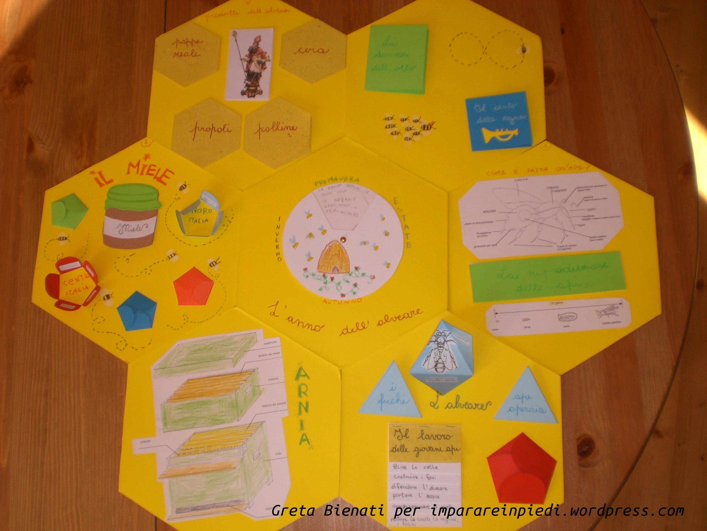 Imparare con i lapbooks imparare in piedi for Immagini api per bambini