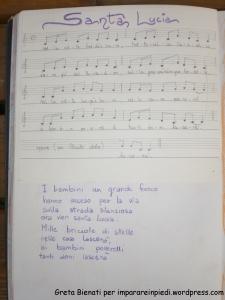 canto santa Lucia