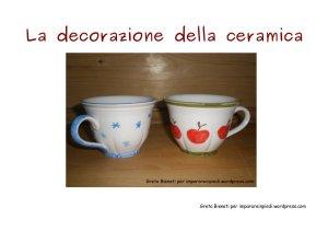 Copertina e-book decorazione ceramica