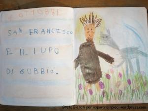 s. Francesco e il lupo