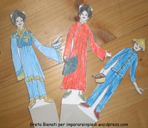China paper dolls
