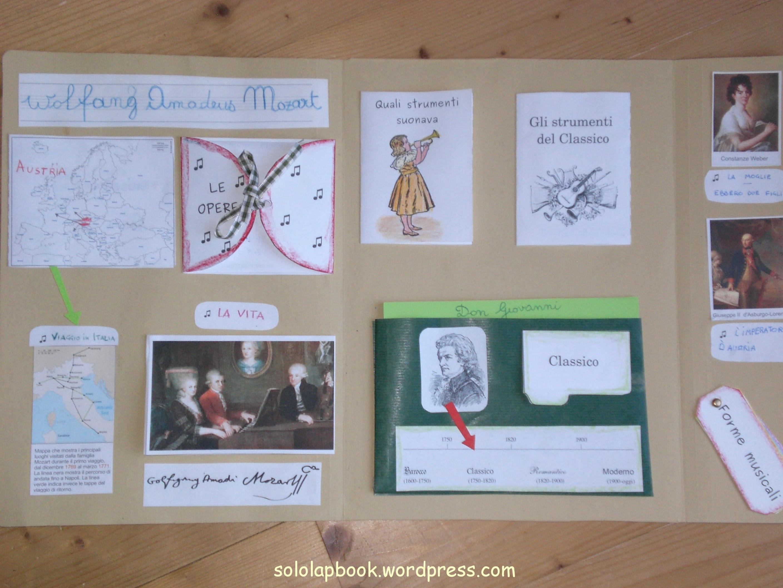 Mozart imparare in piedi