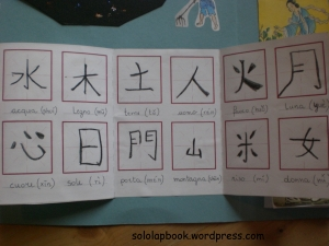 quaderno ideogrammi