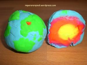 modello della terra